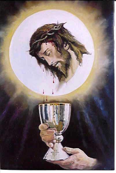 Del Pan En El Cuerpo De Cristo Y Del Vino En Su Sangre Que Renueva