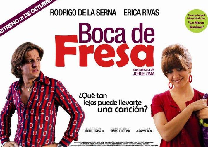 Boca de fresa movie