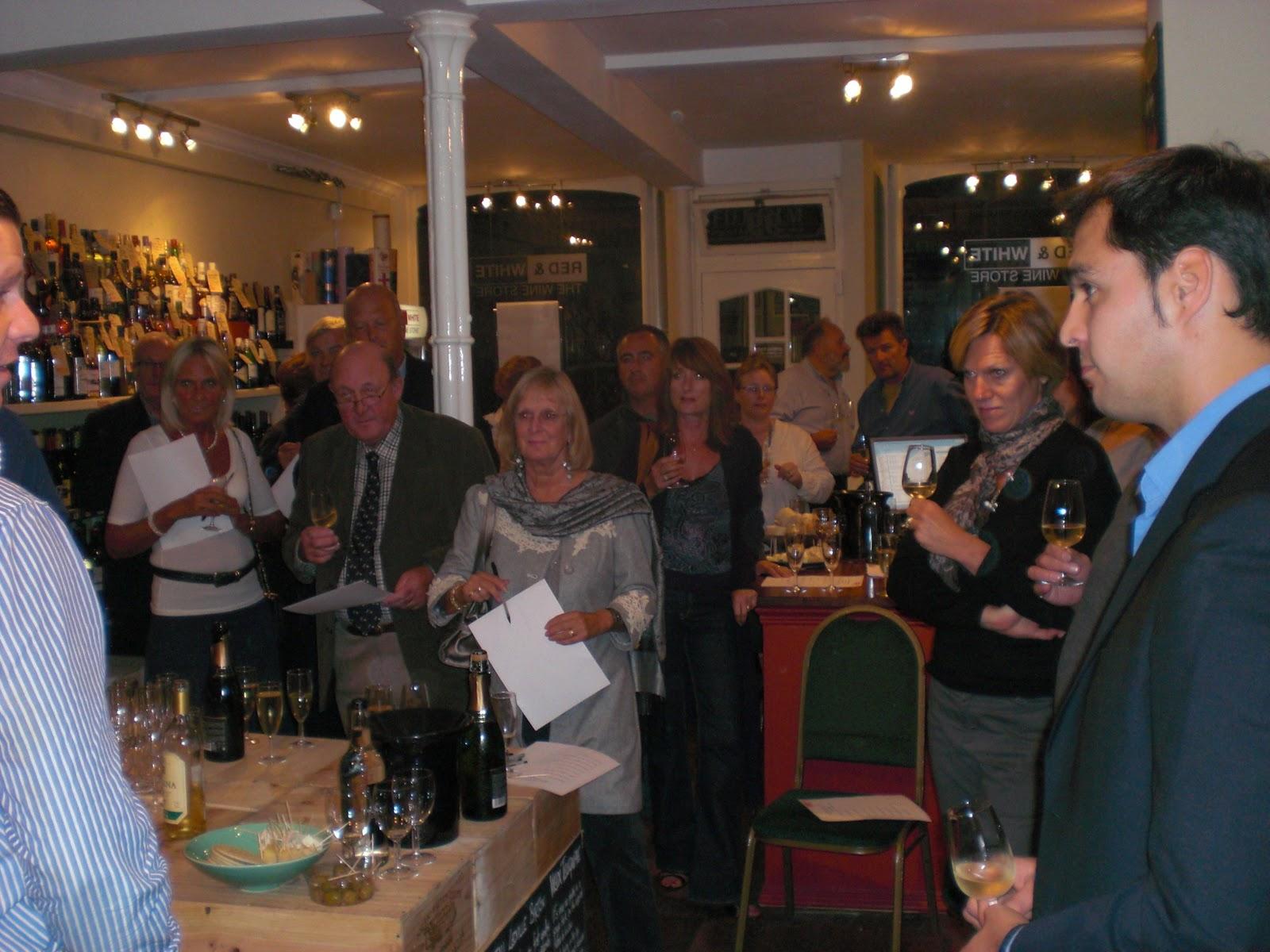 Cata Vino Bodegas Urbina Rioja en Reino Unido