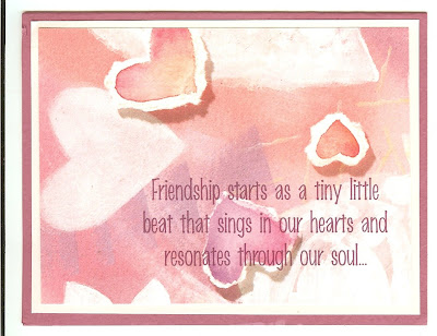 Irresistible image inside printable friendship cards