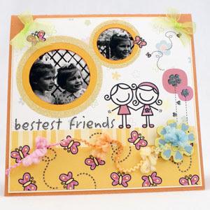 Handmade Card For Friend