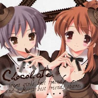 friendship chocolate quote card