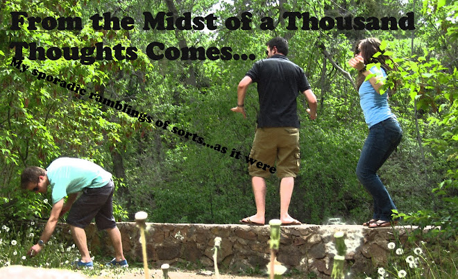 From the Midst of a Thousand Thoughts Comes...