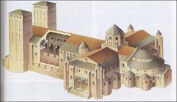 Prototipo de una iglesia románica