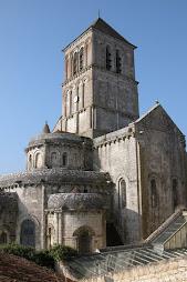 Iglesia de Saint Savin, Francia