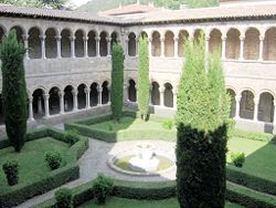 Santa Mara de Ripoll. Claustro