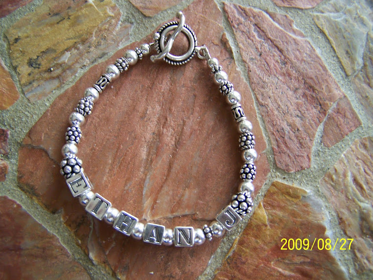 Mother's Bracelet with Middle Initial