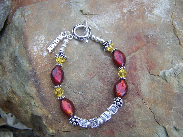 25 ID Army Bracelet