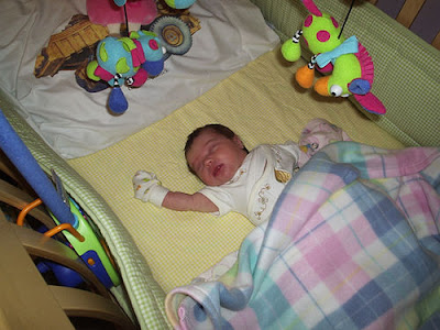 baby sleep in crib bedding