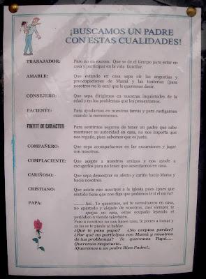 Dia del padre en peri dico mural colegio pachacutec for Amenidades para periodico mural