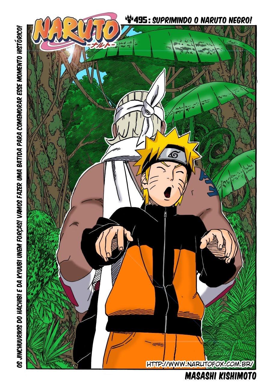 Naruto Colorido ~ NK BR Naruto Mangá 495 [COLORIDO]