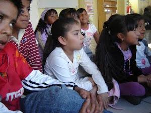 En el Taller Infantil sobre Migración y Derechos Humanos