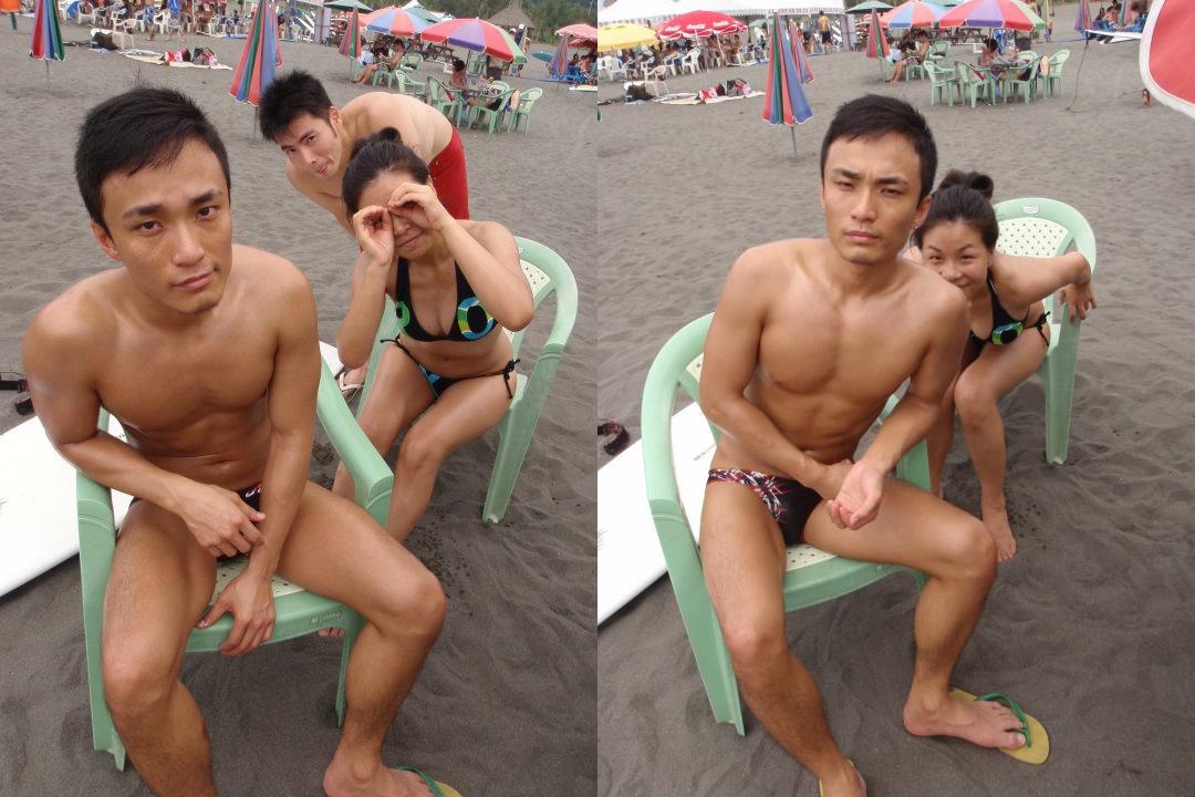 Nude taiwanese men