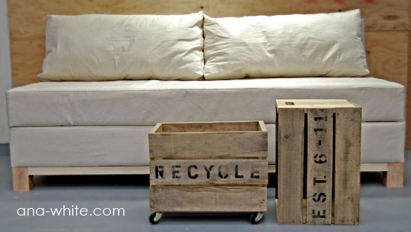 Happy Hearts At Home: Custom Build Your Own Sofa/Bed