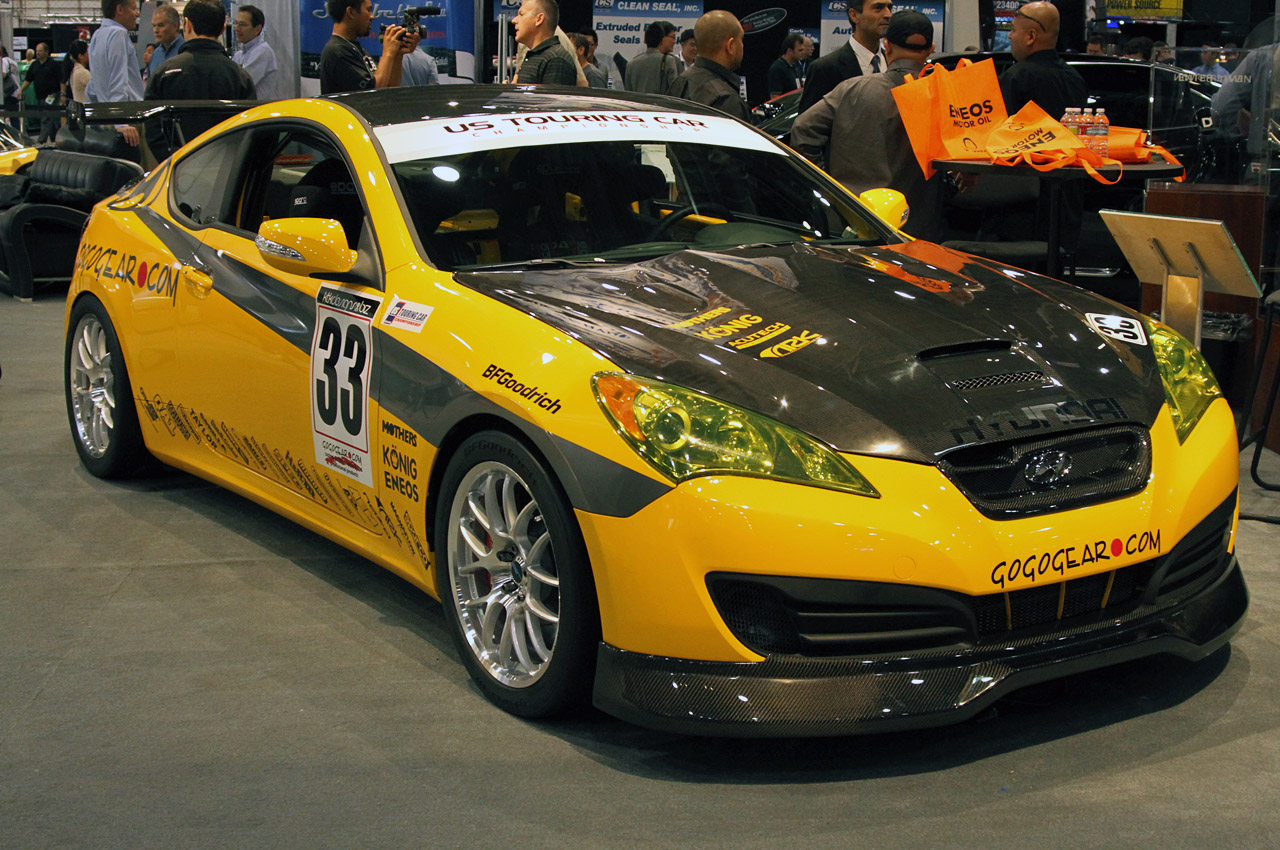 Sema 2010 Hyundai Genesis Coupe Latest Automotive News Car Shows Prices Wall Papers Spy