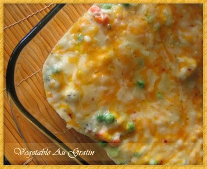 Cook With Love: Vegetable Au Gratin