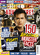 The cover and details for the 150th issue of Doctor Who Adventures Magazine .