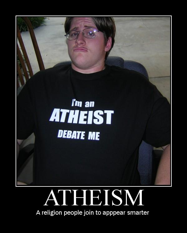 atheist idiot
