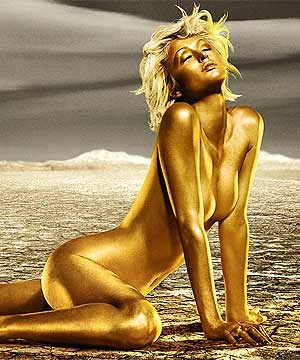 сиво - Облекло, мода, елегантност - Page 2 Gold-lady
