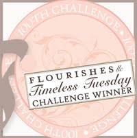 Flourishes Timeless Tuesday 100th Challenge Winner