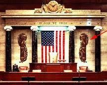 Jordan Maxwell presenta simbolos Nazi en el Senado de EEUU