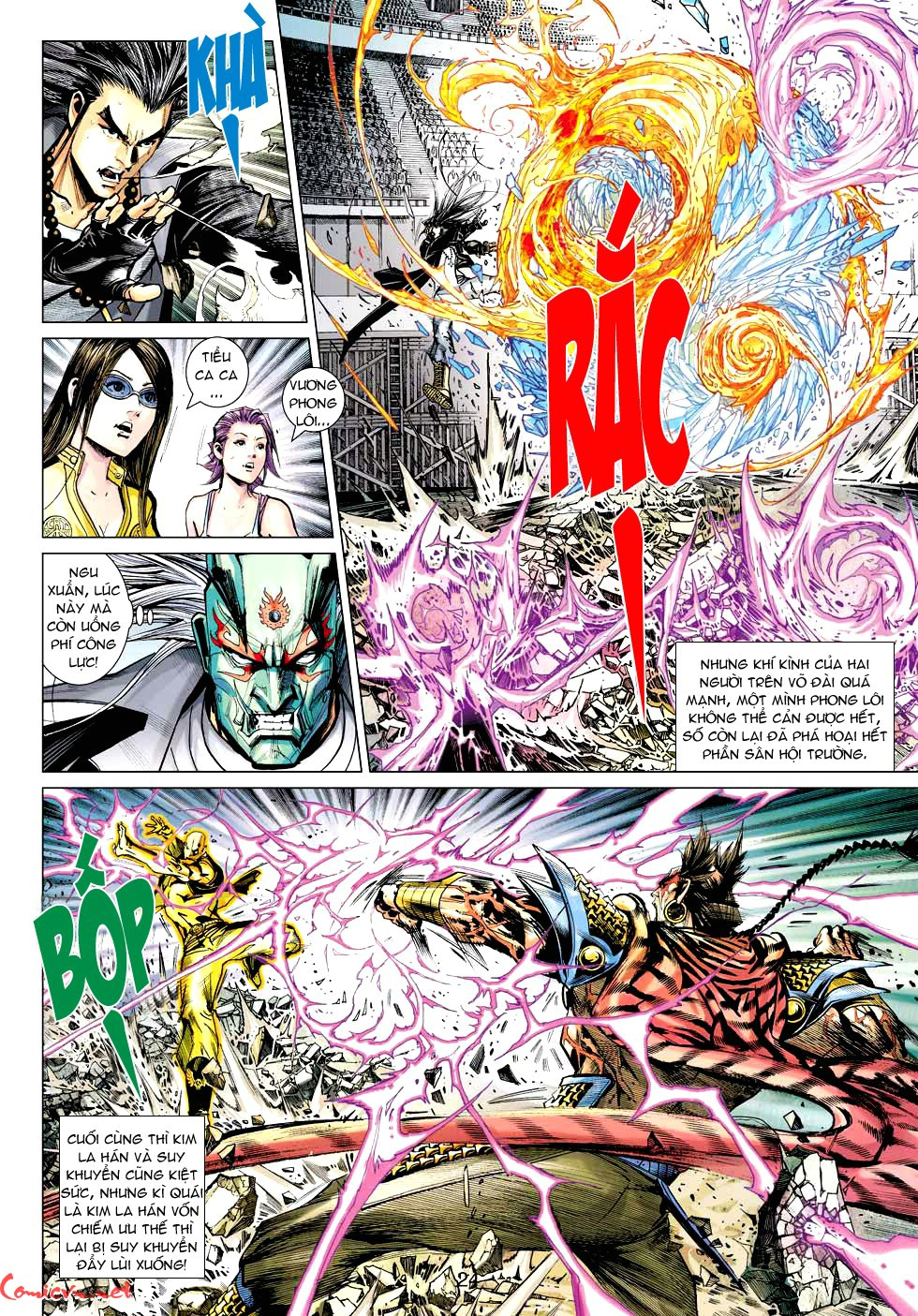 Vương Phong Lôi 1 chap 30 - Trang 21