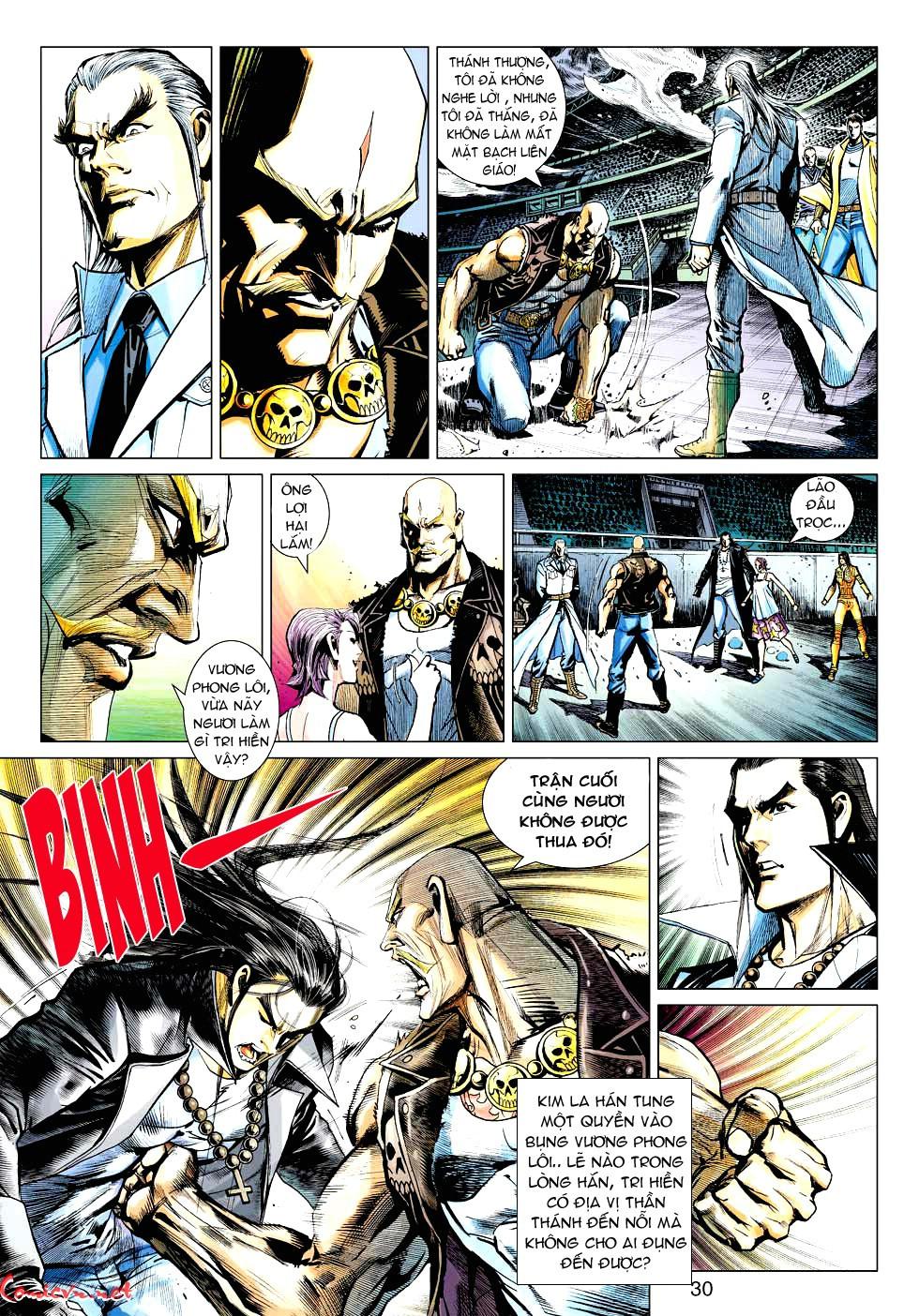Vương Phong Lôi 1 chap 30 - Trang 27