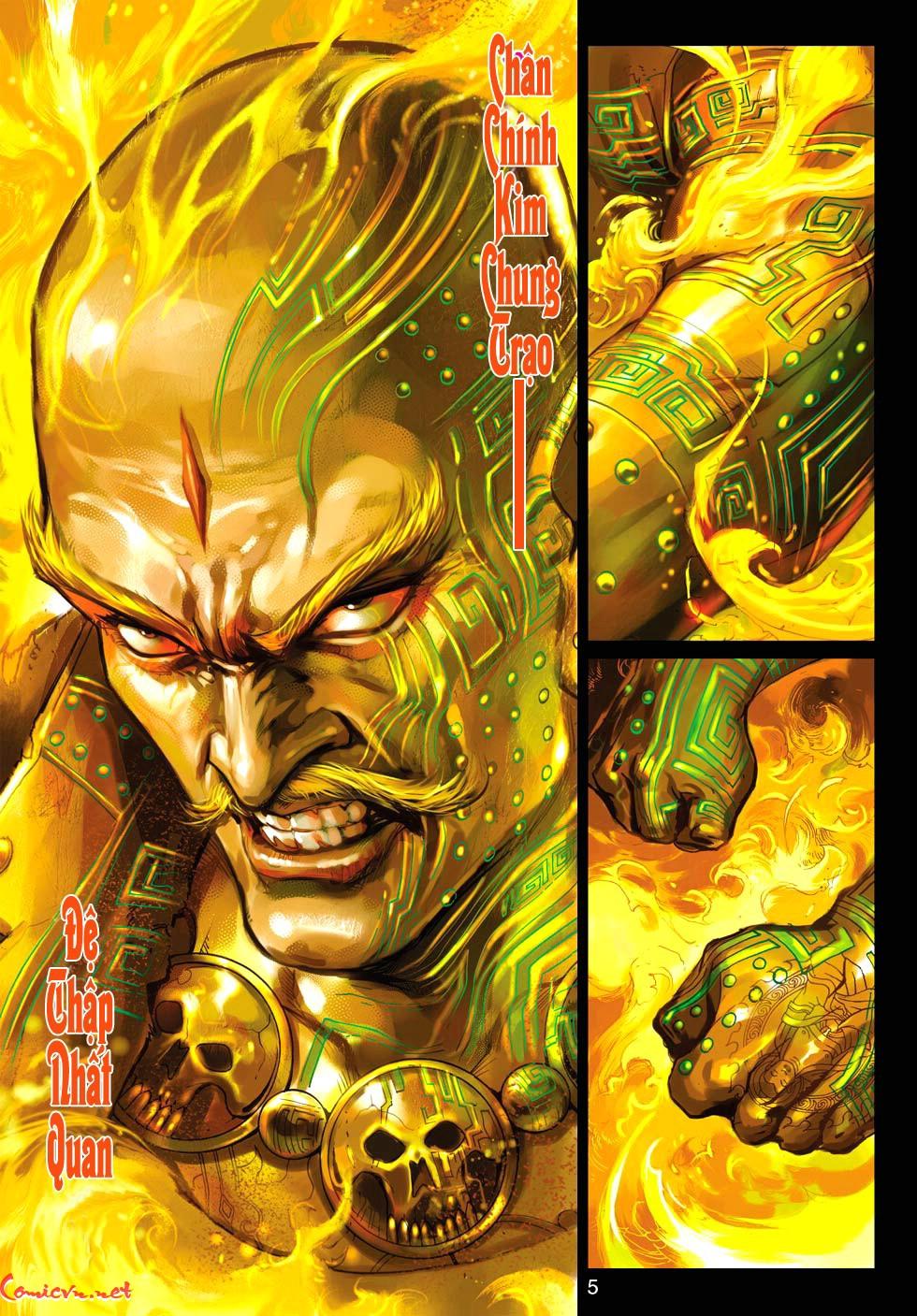 Vương Phong Lôi 1 chap 30 - Trang 4