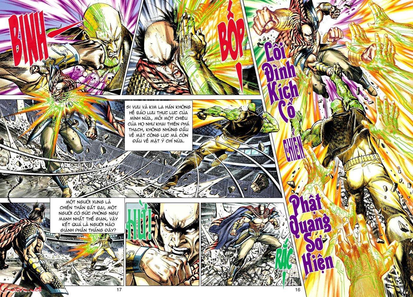 Vương Phong Lôi 1 chap 30 - Trang 14