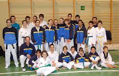 CAMPEONATO PROMOCION OCTUBRE 2009:SUBCAMPEONES INFANTIL, TERCEROS ADULTO