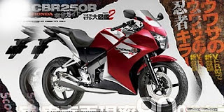 Spesifikasi dan Harga Honda CBR250R