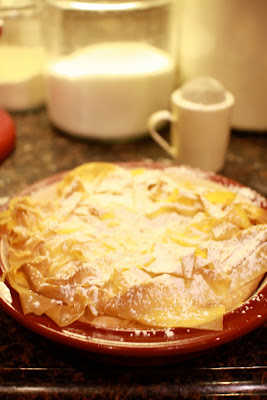 Out of the attic easter desserts easter pie i found this one on food network one of giadas recipes love her it is like an rice puddingegg custard in a flaky philo crust forumfinder Choice Image