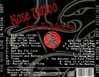 Rose Tattoo - Live In Moscow,