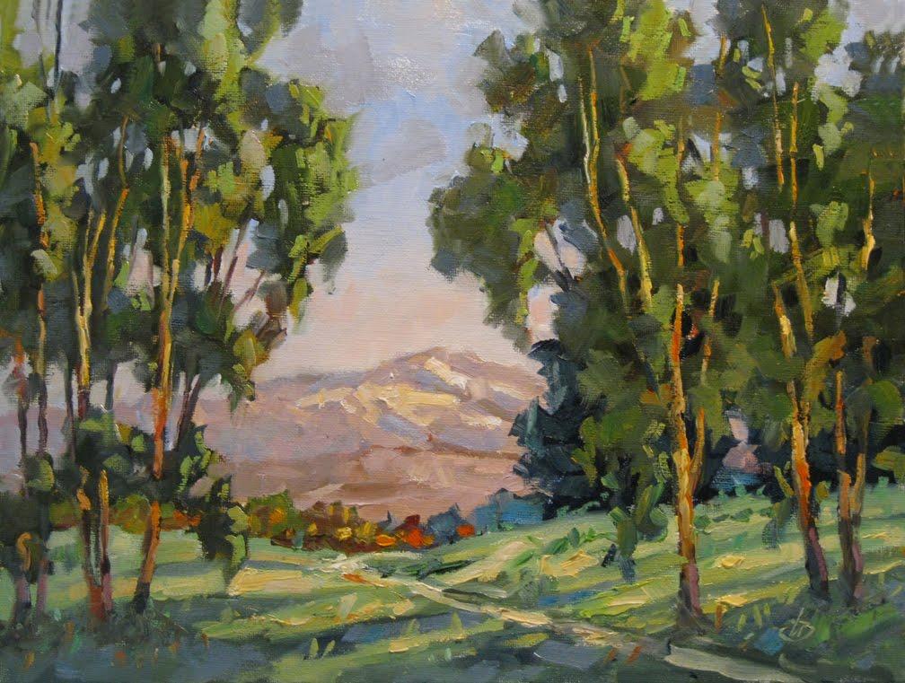 Shade Painting Tom Brown Fine Art September 2010