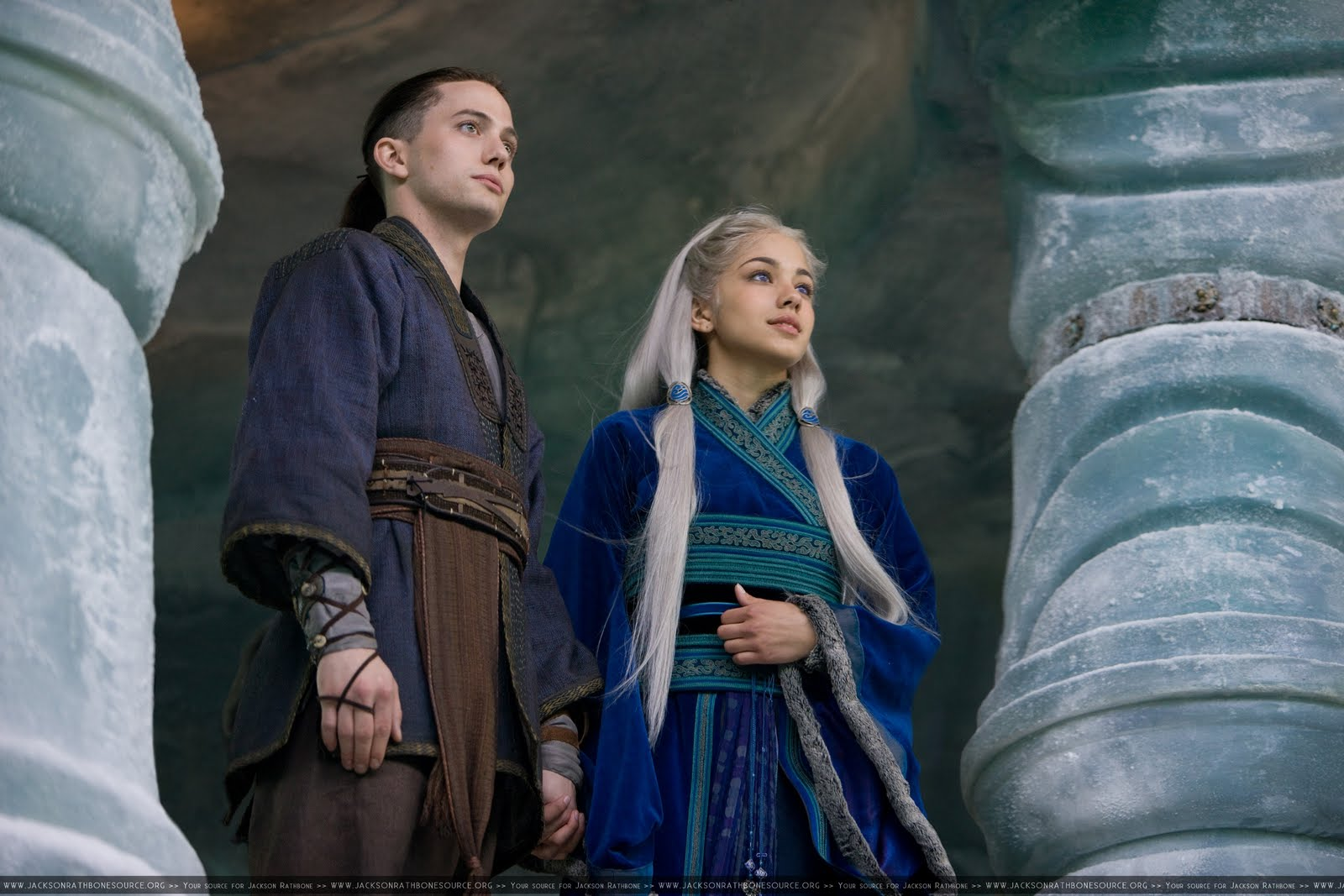 Airbender movie wow still very entao in the movie sokka is katara s