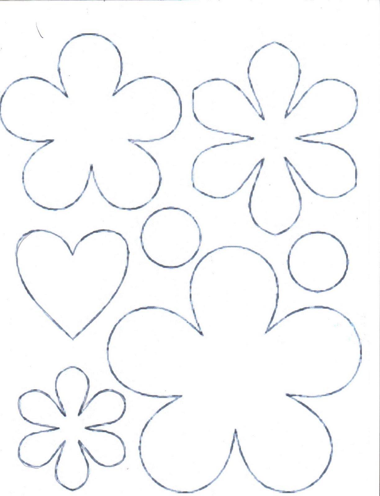Molde De Flores E Cora    O