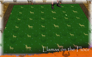 Llamas on the Floor