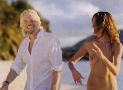 Denni parkinson and richard branson