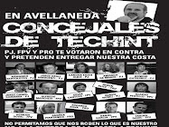 Concejales de Techint en Avellaneda