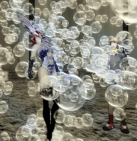 Bubbles in Performance Art