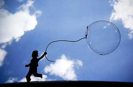 Amazing bubbles effect