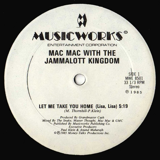 Mac Mac With Jammalott Kingdom Let Me Take You Home Lisa Lisa