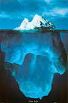 This is only the Skin of the Iceberg above Water