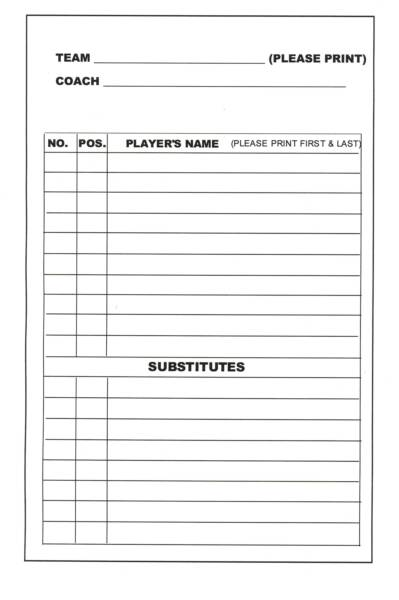 free baseball lineup card template - the hill lineup 9 9