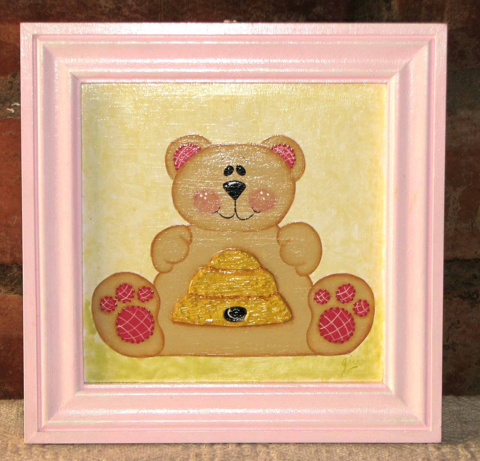 Pinturas de gladys cuadros para dormitorio de bebes - Cuadro para dormitorio ...