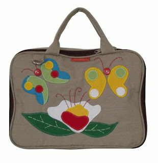 Butterfly - Tas Laptop Gaul