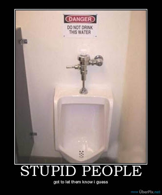 plain dumb stupid people