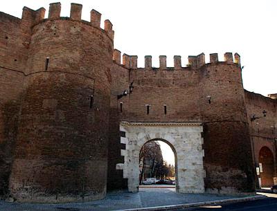 Le mura di roma - Via di porta pinciana 34 roma ...