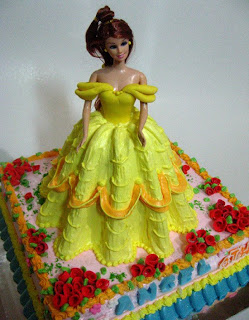 Princess+belle+cake+ideas