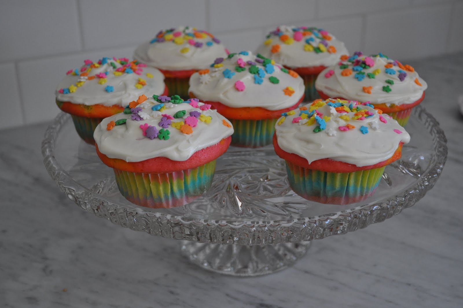 Neon Cupcake Liners